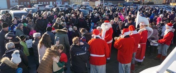 Julemand og musik til tiden<br> søndag på Sæby Havn