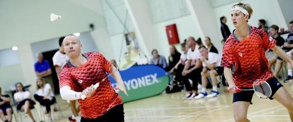 Sæby-talent fik flot optakt<br> til badminton-dyst