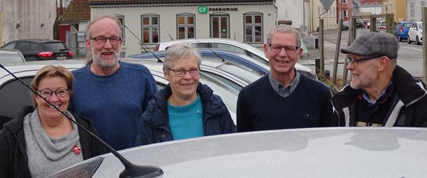 Vita og Anders fik genopfrisket<br> køre-evnerne med GF Nord