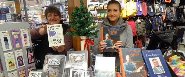 Julegaveide: Dronningen<br> og Sæby hitter i boghandlen