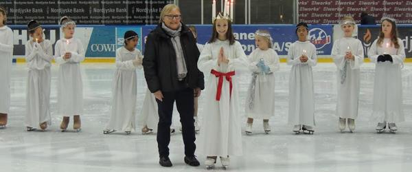Unge skøjteløbere fra Sæby<br> gjorde det rigtig flot
