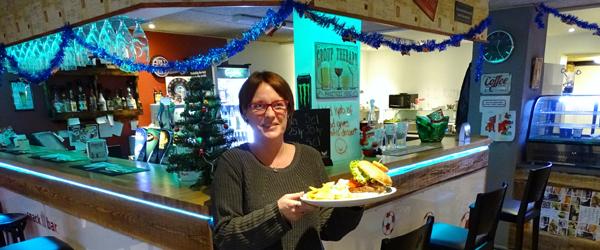 Julegaveide: Lidt lækkert<br> på Sæby Sports Café