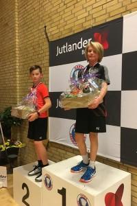 Jacob Lindegaard vinder 1. plads i Herre single.