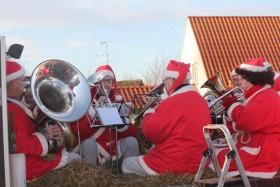Fra juleoptoget 2016 i Taars - indsendt af Else fra Tårs