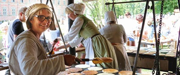 Voergaard Slot inviterer atter<br> til Middelalderdage i juli