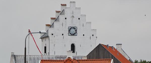 Spaghettigudstjeneste i Sæby Kirke