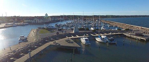 Nyt havnebassin og havneområde ved Sæby Havn