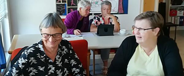 Ældre Sagen i Sæby hjælper med IT