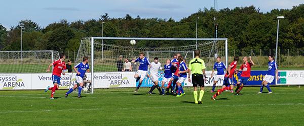 Forårspremiere i Danmarksserien i fodbold