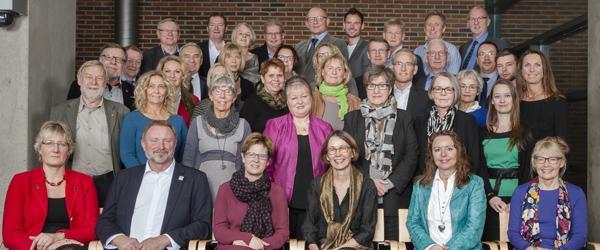 20131213, Aalborg, Danmark: NORDJYLLANDS REGIONSRÅD - de genvalgte og nyvalgte politicker i Region Nordjylland havde i dag første møde, hvor Ulla Astmand blev genvalgt som formand. Foto: MickAnderson.DK