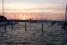 Solen står op over Sæby