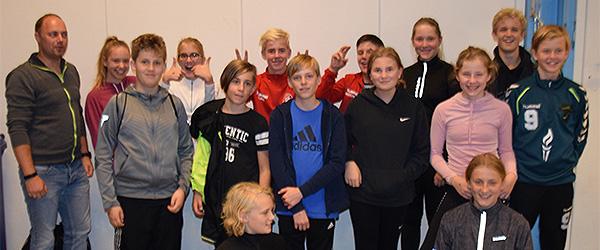 Sæbygaardskolens 9. klasser styrede Skolernes Motionsdag