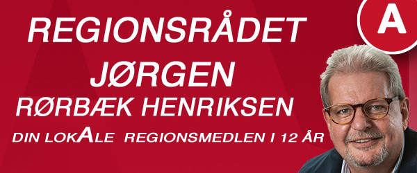 Stor lokal opbakning til Jørgen Rørbæk Henriksen