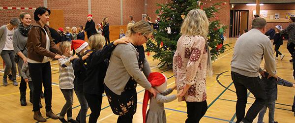 Jule-tamtam i Voersåhallen for alle