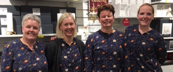 Aktive Kvinder på julegave-jagt i Sæby