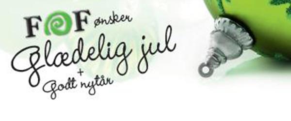 Jule- og nytårshilsen fra FOF Vendsyssel