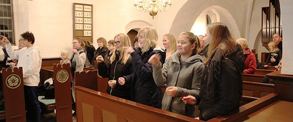 Børnegudstjeneste med glæde, advent og jul