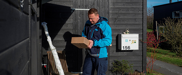1.452 Sæby-husstande bruger haven som posthus i julen