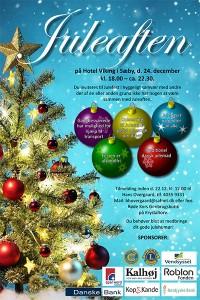 Plakat Juleaften