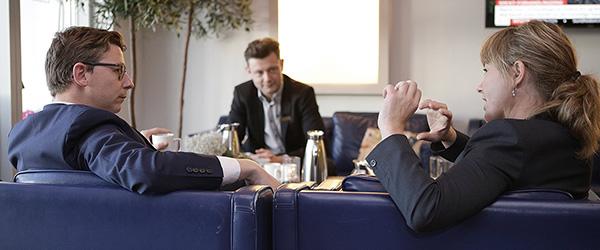 Skatteminister besøgte Hotel Viking i Sæby