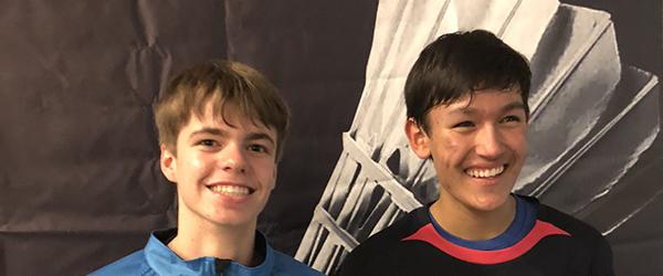 Nikolaj rykker i Elite-rækken i badminton