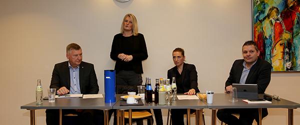 Socialdemokratisk leder på besøg i Sæby