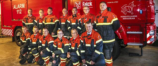 Flere udrykninger hos Falck i Østervrå