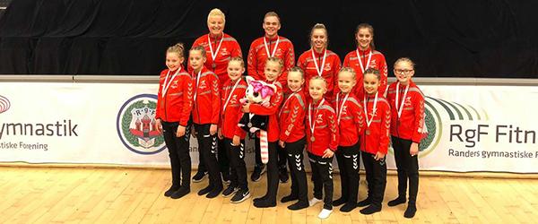 Regionsmesterskab Vest bragte guld og sølv til Springteam Sæby