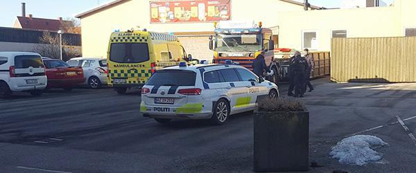 Arbejdsulykke: 29-årig mand alvorlig tilskadekommen