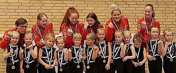 Spirecup guld til Springteam Sæby