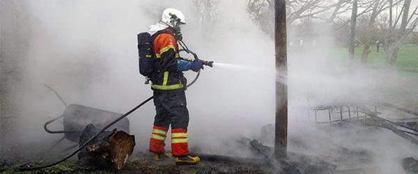 Spejdernes bålhytte i Thorshøj stod i flammer