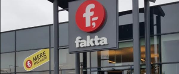 Fakta lukker 47 butikker i Danmark