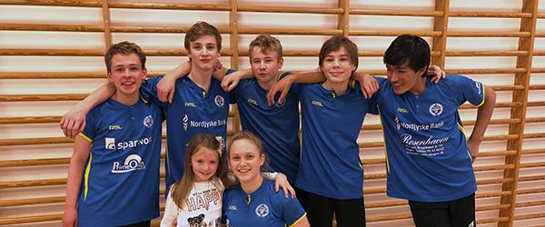 Nikolaj Blunck fra Sæby blev hold-Danmarksmester