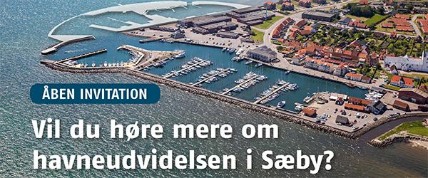 Offentligt møde om udvidelsen af Sæby Havn