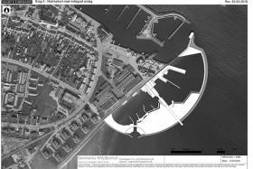 Luftfoto med indtegnet anlæg kopier