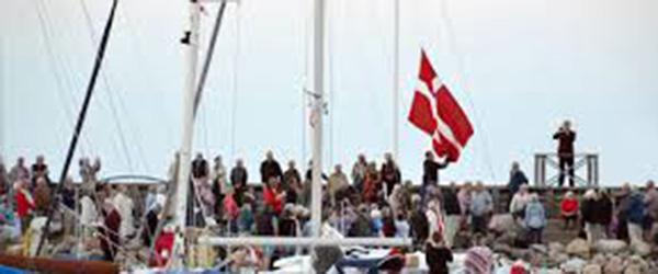 Flagnedspilning Havnen kopier
