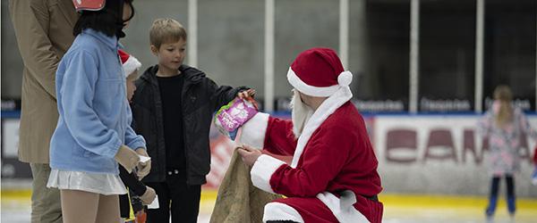 Skøjte og Sports forening på julerejse rundt i hele verden