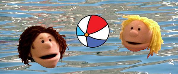 Sofus og Lise i vandet kopier