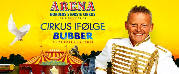 KONKURRENCE: <br>Vind billetter til Cirkus Arena
