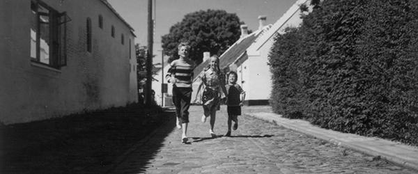 Far til fire på landet - i Sæby