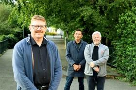 John Lamp Henriksen, Formand Tomo Kijanovic og Næstformand Thomas Rugholm