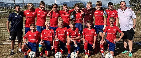 Flot 3. plads til U-15 ved årets Costa Brava Cup
