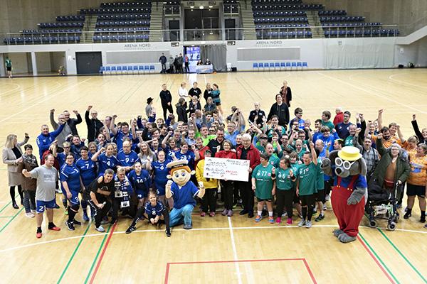 Fællesbillede Special Olympics i Arena Nord kopier