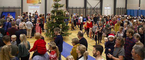 Rekordmange til juletræsfest i Sæby Gymnastikforening