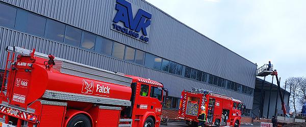 Mindre brand standsede produktionen på AVK