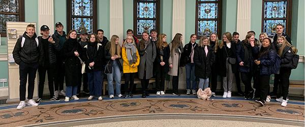 27 elever tilbragte tre uger i Dublin