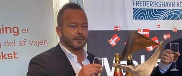 Iværksætterpris til Morten Stausgaard for Cantona Gruppen