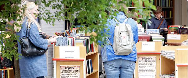 OUTLET på bibliotekerne i vinterferien