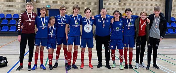 Guld til IF Skjolds U15 Drenge i Futsal