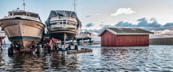 Oversvømmelserne i Sæby efterlader ingen skader